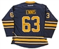 Tyler Ennis Autographed Buffalo Sabres Blue Hockey Jersey