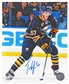 Tyler Myers Autographed Buffalo Sabres Stickhandling 8x10 Hockey Photo