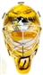 2001/02 Upper Deck Mask Collection Johan Hedberg Penguins Chrome Mini Mask