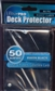 Ultra Pro Raven Black Deck Protectors 50 Count Pack