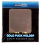 Ultra Pro Gold Hockey Puck Holder