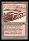 Magic the Gathering Antiquities Single Strip Mine (No Sky, No Tower) - SLIGHT PLAY (SP)