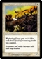 Magic the Gathering Invasion Single Wayfaring Giant Foil