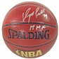 Dominique Wilkins Autographed Spalding Basketball (Leaf COA)
