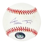Willie Mays Autographed San Francisco Giants Official MLB Baseball (Say Hey & Mounted Mem. COA)