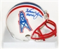 Warren Moon Autographed Houston Oilers Mini Helmet (Tristar)