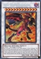 Yu-Gi-Oh Collectible Tins Single Red Nova Dragon Secret Rare - SLIGHT PLAY (SP)