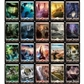 Magic the Gathering Zendikar Basic Land Set