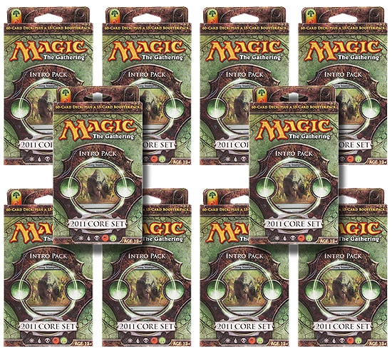 Magic The Gathering 2011 Core Set Intro Pack Stampede Of