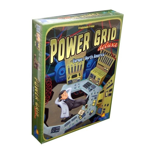 Power Grid Deluxe (Europe/North America) Board Game
