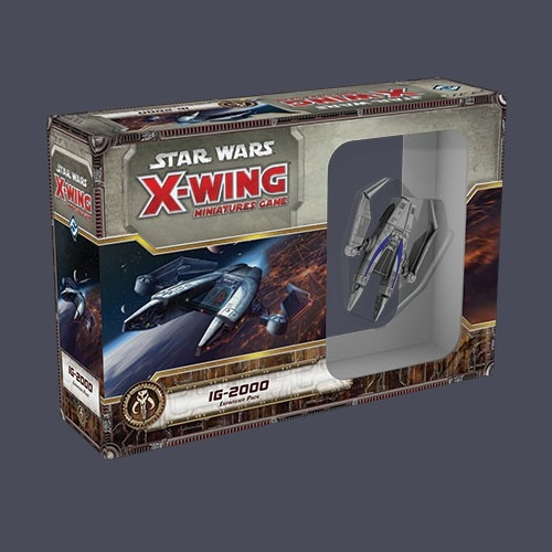 Star Wars X Wing Miniatures Game: Star Wars X-Wing Miniatures Game: IG-2000 Expansion Pack