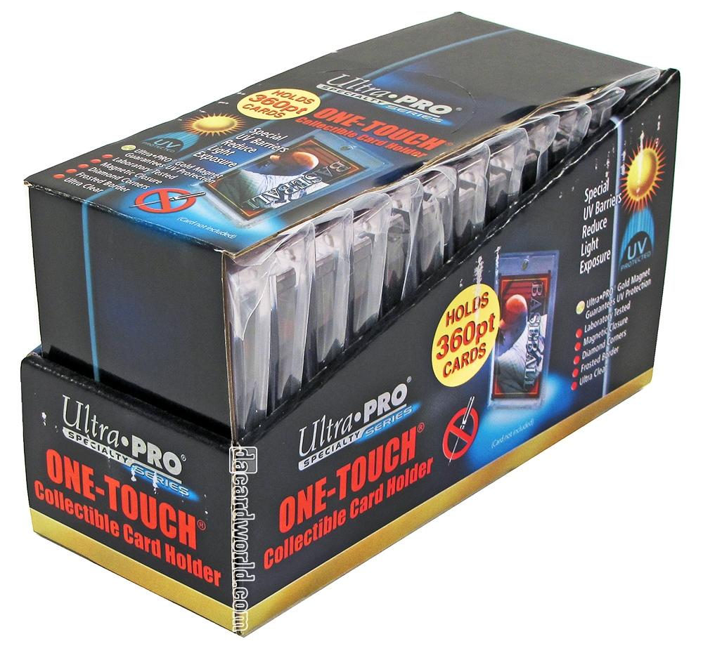Ultra pro pt one touch collectible card holders