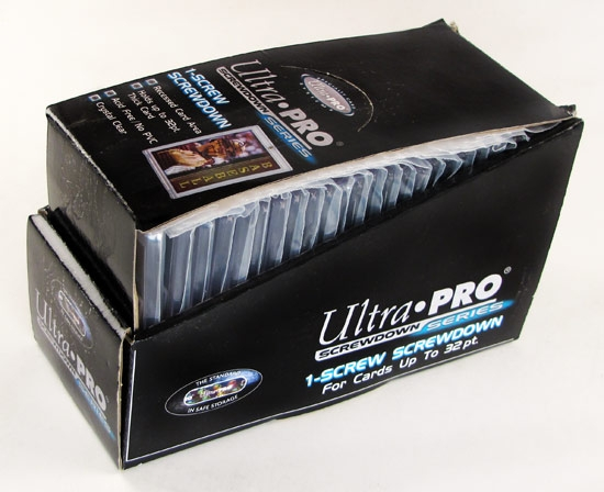 Ultra Pro 32pt Screwdown Collectible Card Holders 25