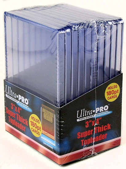 ultra pro comic book top loaders