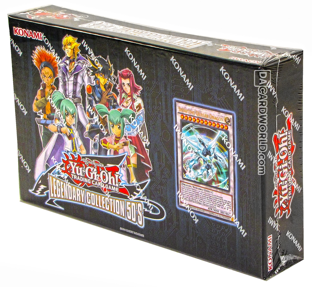 Konami Yu-Gi-Oh Legendary Collection 5D's 12-Box Case