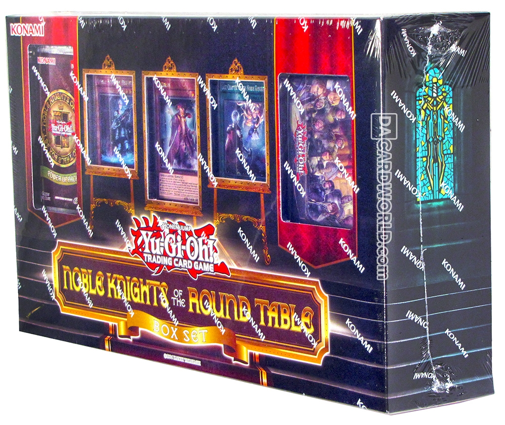 Konami Yu Gi Oh Noble Knights Of The Round Table Box Set