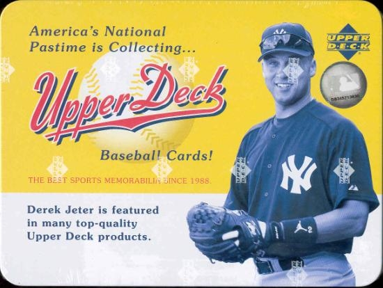 2005 Upper Deck Origins Baseball Hobby Tin Box Da Card World