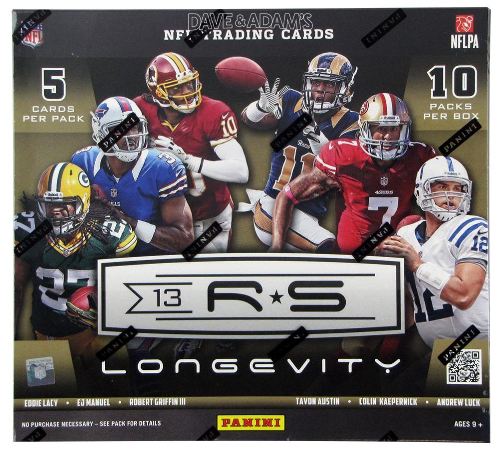 2013 Panini Rookies & Stars Longevity Football Box (4