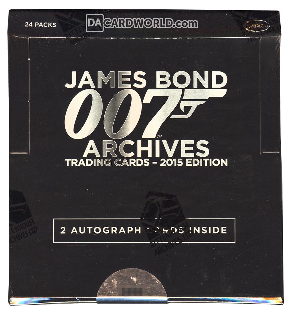 james bond cards