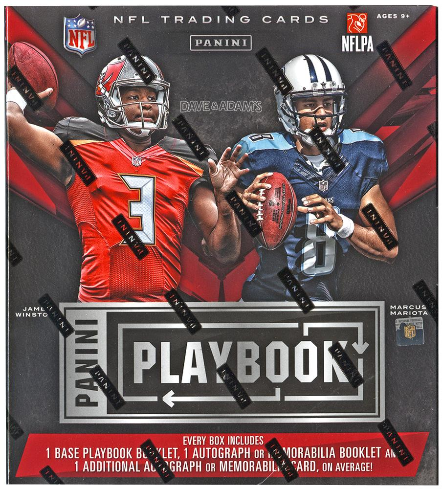 2016 Panini Playbook Football Hobby Box NFL Einzigartige ...