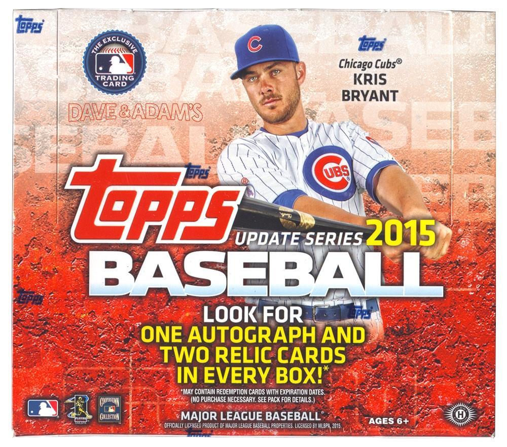 2015 Topps Update Baseball Jumbo Box Da Card World