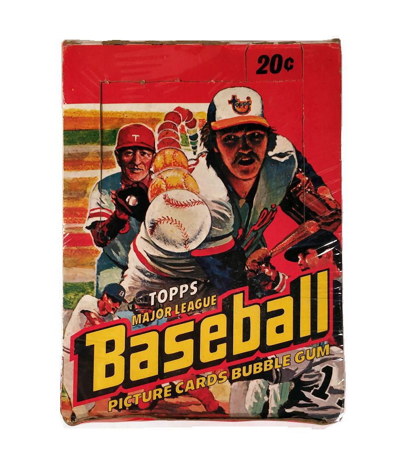 1978 Topps Baseball Wax Box Da Card World
