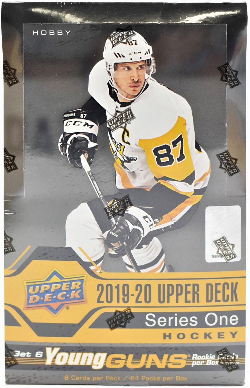 2019-20 Upper Deck Box Set Adam Fox #9 Rookie