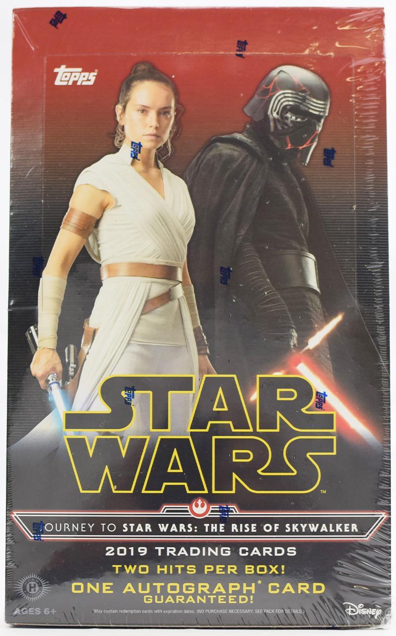 Journey To Star Wars The Rise Of Skywalker Hobby Box Topps 2019 Da Card World