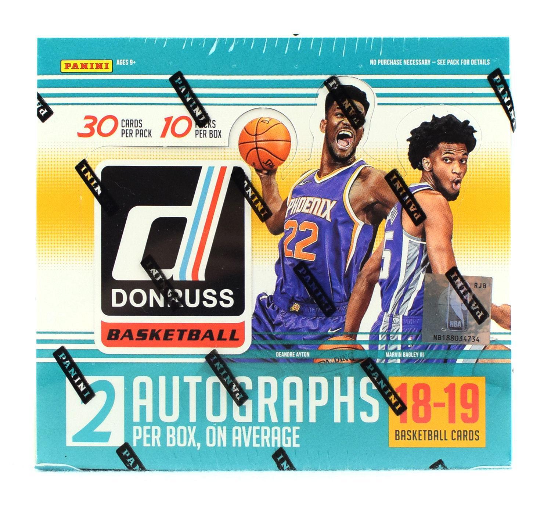 2018 19 Panini Nba Hoops Basketball Hobby Box: 2018/19 Panini Donruss Basketball Hobby Box
