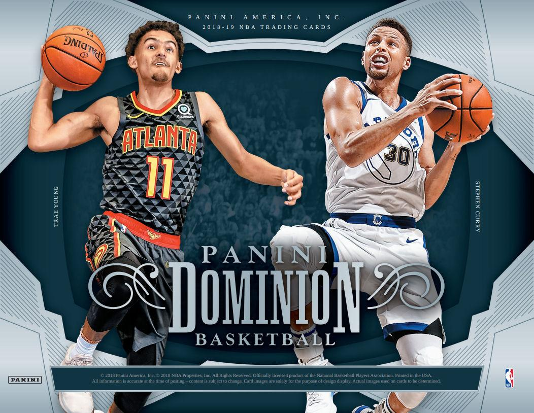 2018 19 panini dominion basketball hobby box presell. Black Bedroom Furniture Sets. Home Design Ideas