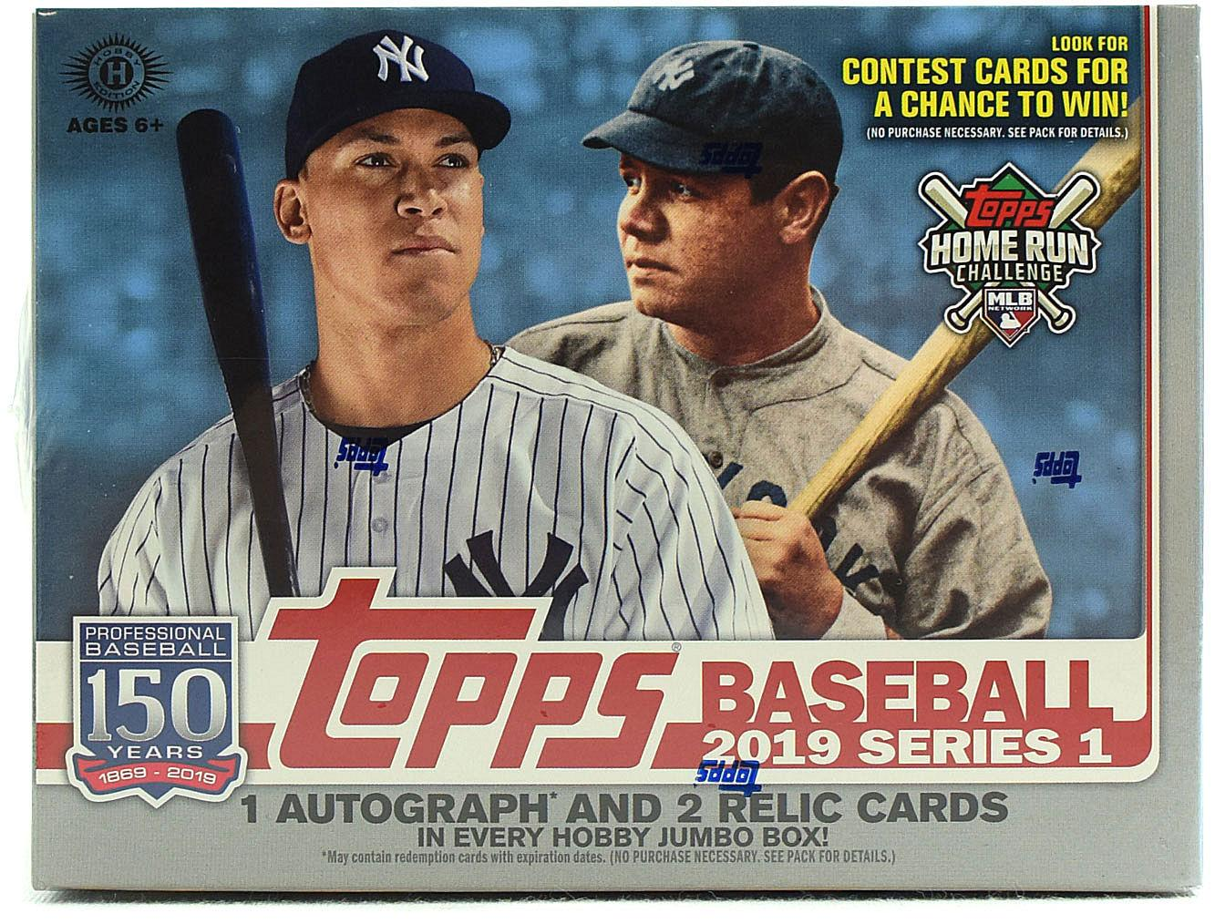 2019 Topps Series 1 Topps Now Complete 10 Card Insert Set