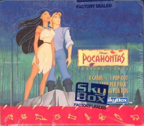 1995 Skybox 36 Packs Disney Pocahontas Trading Card Box Factory Sealed