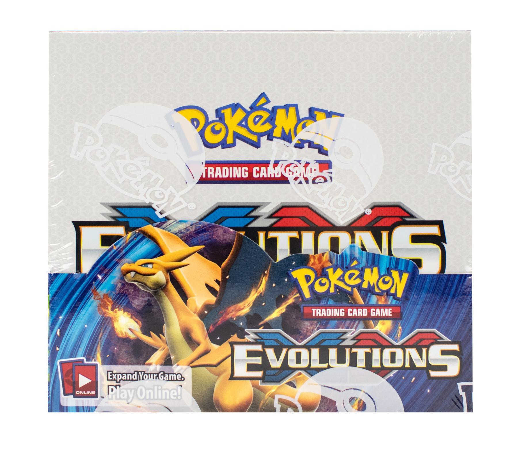 Pokemon xy evolutions booster box da card world - Evolution pokemon xy ...