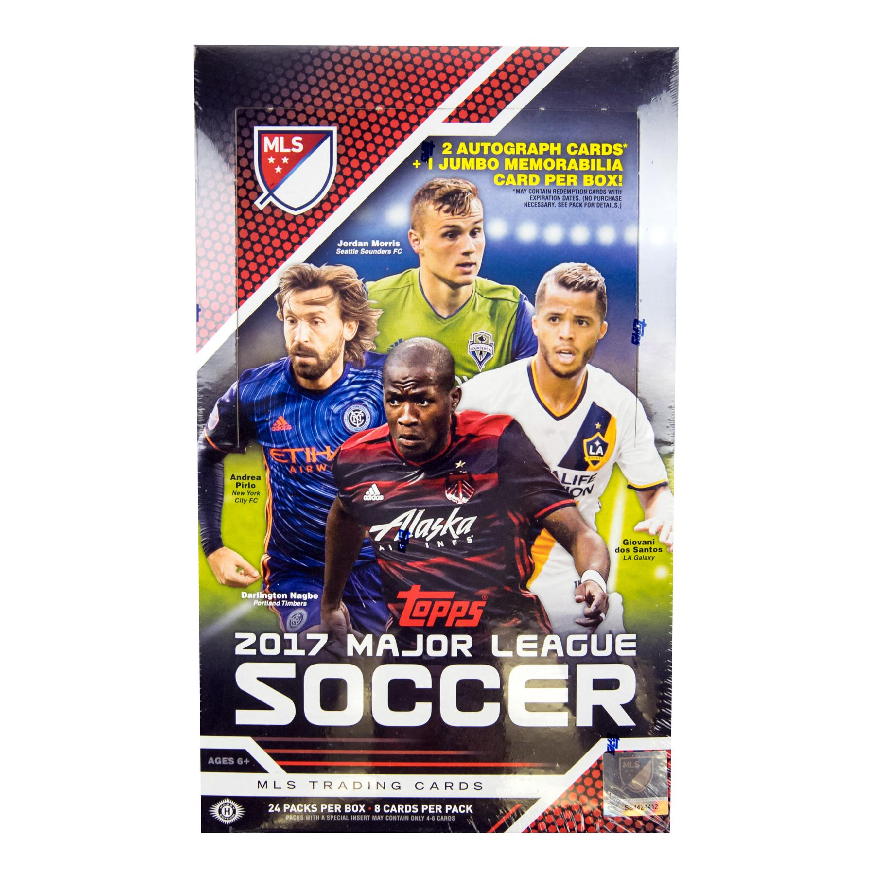 2017 Topps Mls Major League Soccer Hobby Box Da Card World