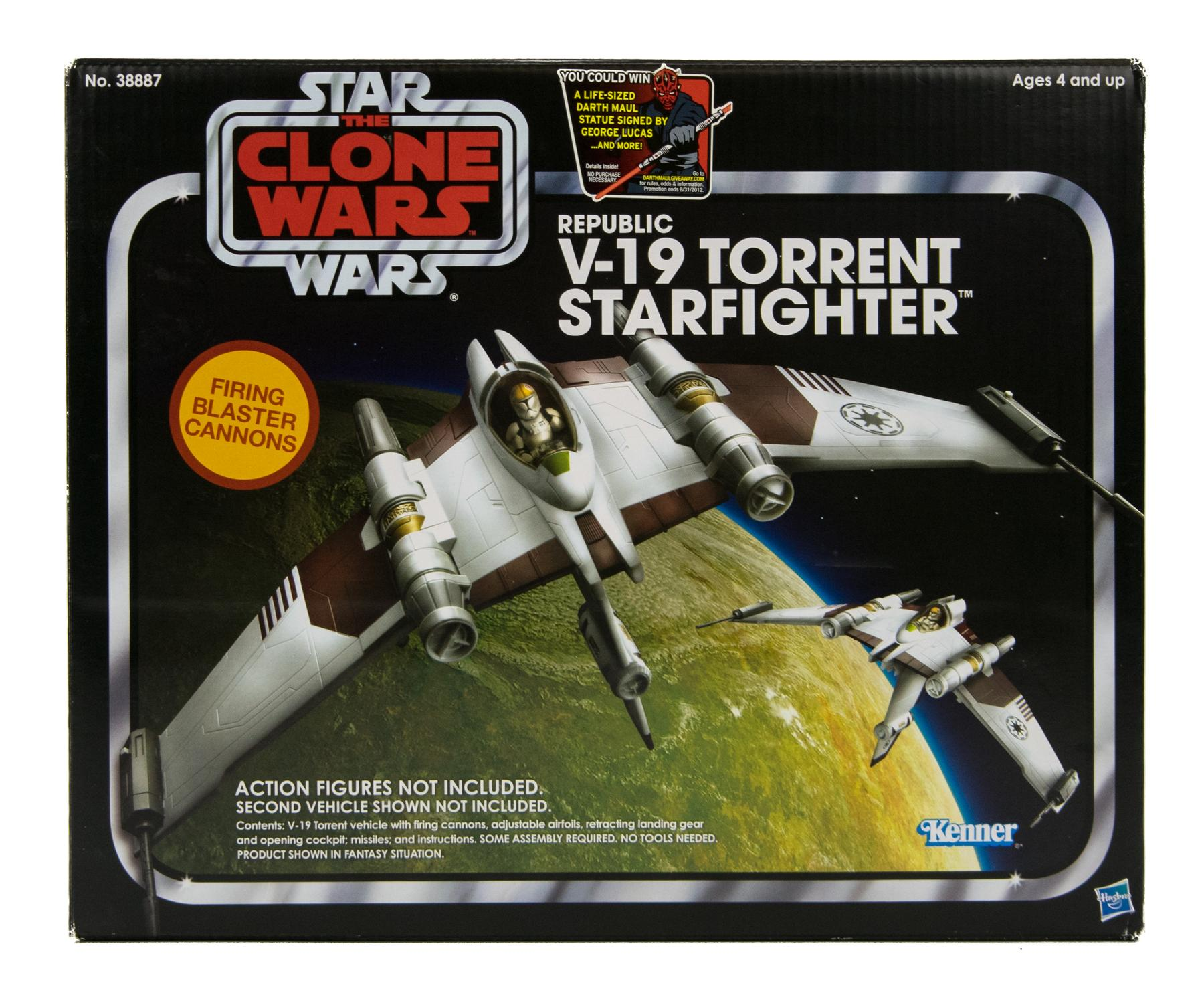 star wars vintage collection v 19 torrent starfighter ebay. Black Bedroom Furniture Sets. Home Design Ideas