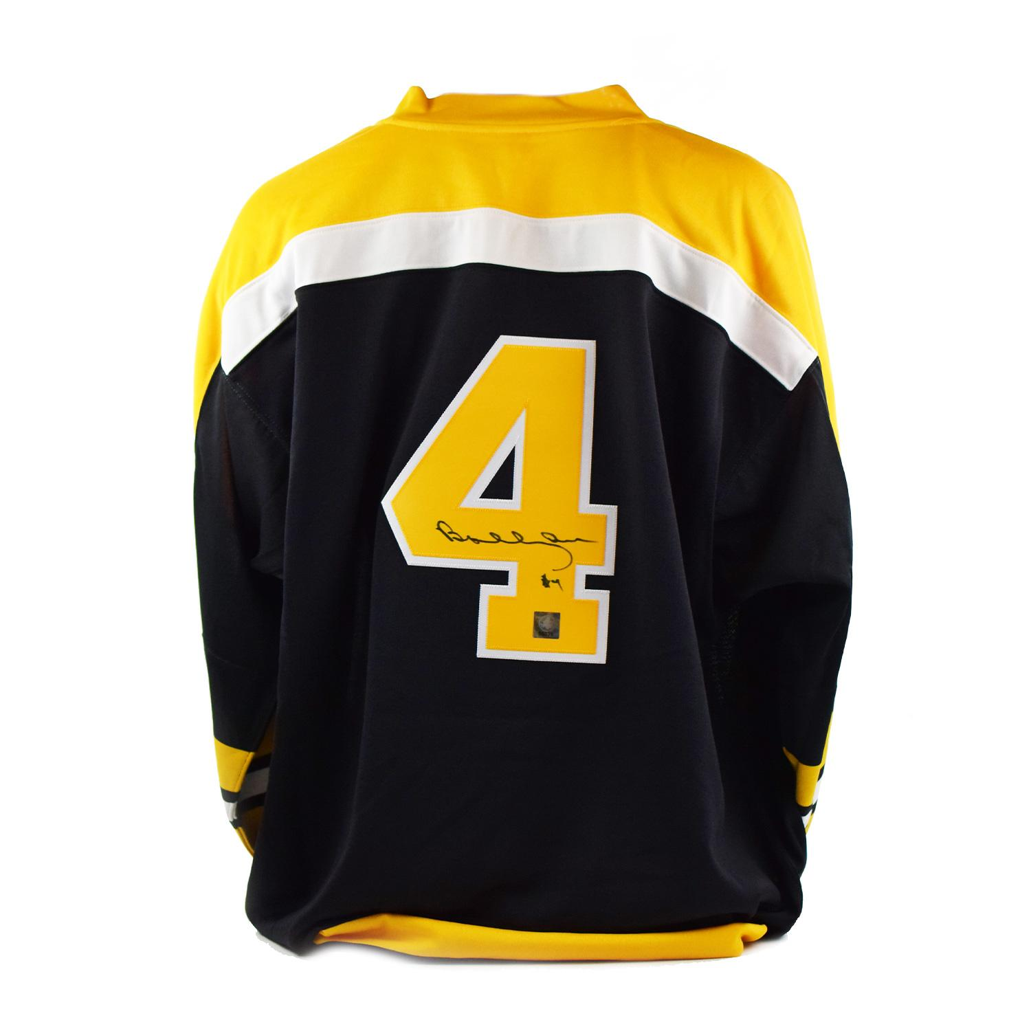a76310bae Bobby Orr Autographed Mitchell & Ness Boston Bruins Jersey (Great North Road  COA) | DA Card World