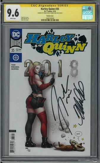 Harley Quinn #35 Cho Variant Cover NM DC Comics 2018