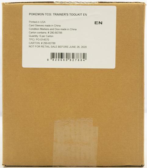 tarjeta de código promocional TRAINER/'s TOOLKIT Pokemon TCG