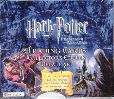 Harry Potter and the Prisoner of Azkaban Update Collector Card Album