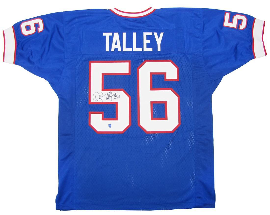 competitive price 87b97 42865 Darryl Talley Autographed Buffalo Bills Blue Football Jersey