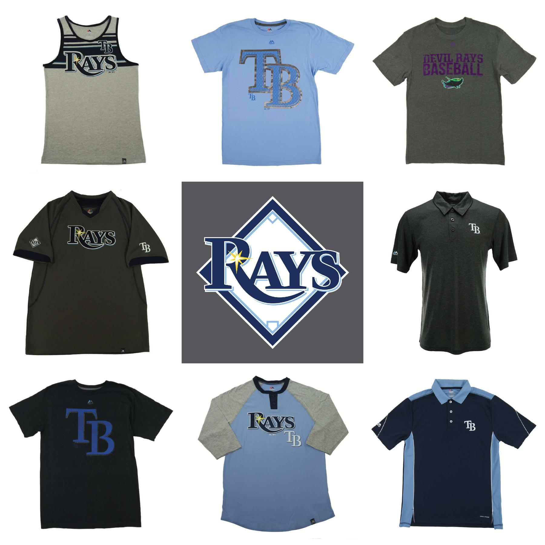 tampa bay rays officially licensed mlb apparel liquidation 1 590 items 55 000 srp da card world tampa bay rays officially licensed mlb apparel liquidation 1 590 items 55 000 srp