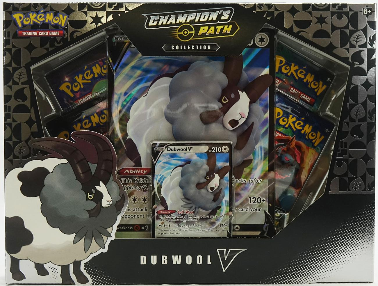 Champion/'s Path SWSH049 Pokemon *Box Fresh* Dubwool V Promo