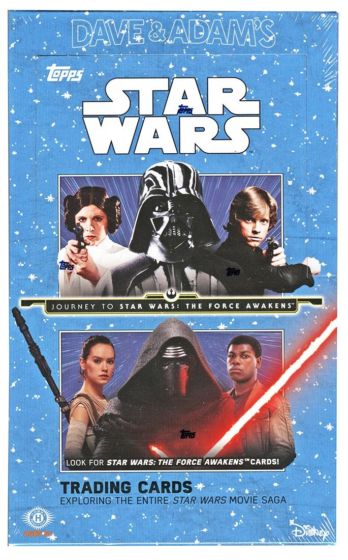Star Wars Journey To The Force Awakens Hobby Box Topps 2015 Da