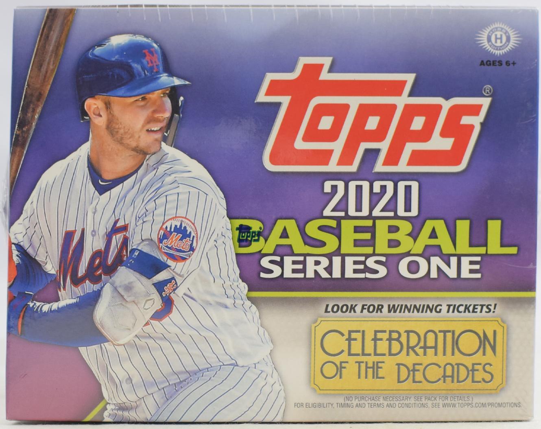 2019 Topps Series 1 Baseball Hobby HTA Jumbo BOX plus 2 Silver Packs Sealed
